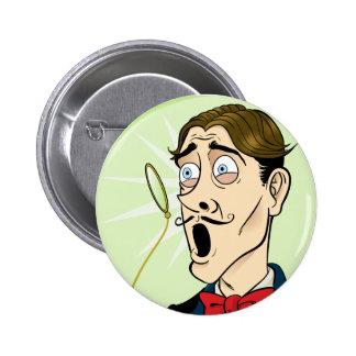 Monocle-Schock Runder Button 5,7 Cm