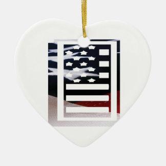 Monogramm des Buchstabe-I patriotische Keramik Ornament