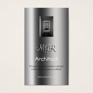 Monogramm, Innenarchitektur-Architekt, Visitenkarten