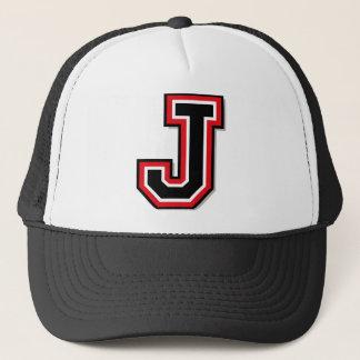 "Monogramm ""J "" Truckerkappe"