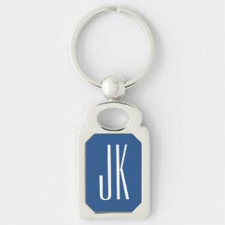 Monogramm keychain schlüsselanhänger