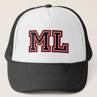 Monogramm 'ML Truckerkappe