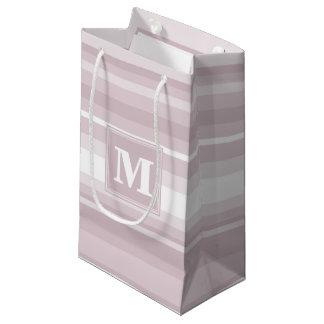 Monogramm-Rosen-Quarzstreifen Kleine Geschenktüte
