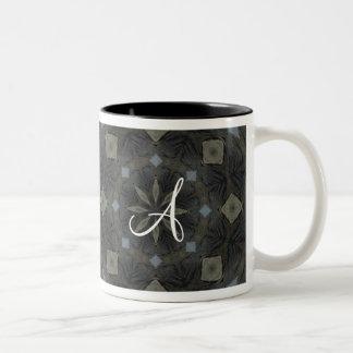 Monogramm Zweifarbige Tasse