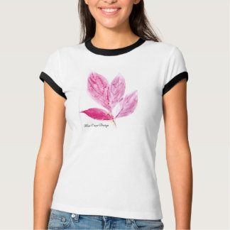 Monotype-botanischer Druck T-Shirt