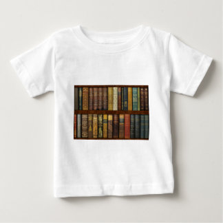 Monsieur Fancypantaloons' Instant Library Bookcase Baby T-shirt