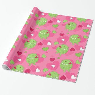 Monster-Liebe Geschenkpapier