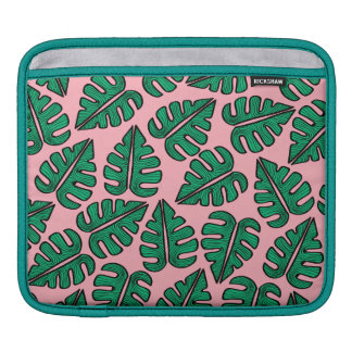 Monstera leaves iPad bag Sleeve Für iPads