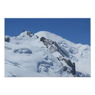 Mont Blanc, französische Alpen Photo Drucke