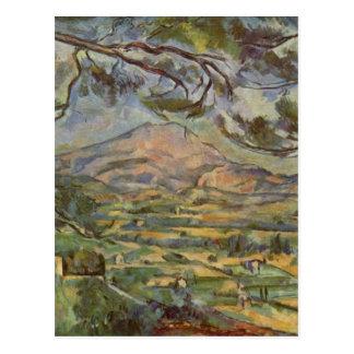 Mont Sainte-Victoire durch Paul Cézanne Postkarte