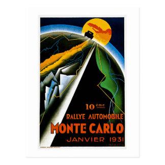 Monte Carlo 1931 Postkarte