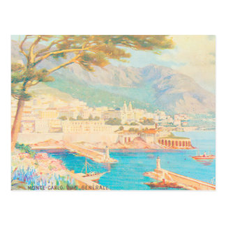 Monte Carlo Ansicht Postkarte