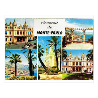 Monte Carlo, frühes multiview Postkarte