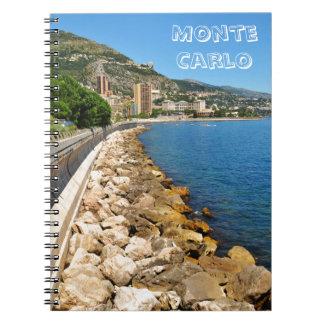 Monte Carlo in Monaco Notizblock
