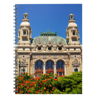 Monte Carlo in Monaco Spiral Notizblock