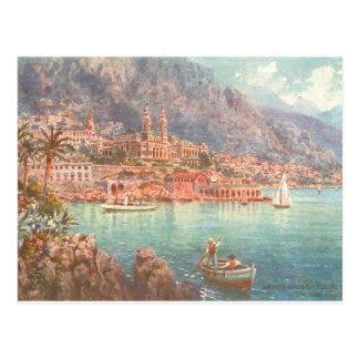 Monte Carlo Kasino Postkarte