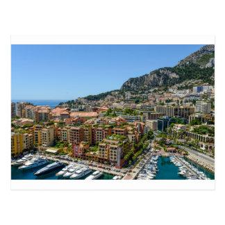Monte Carlo Monaco Postkarte