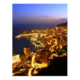 Monte Carlo, Monaco Postkarte