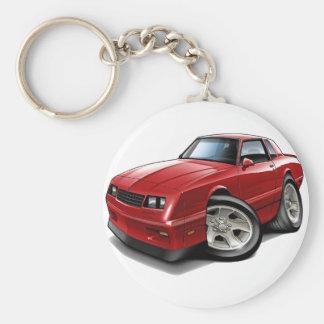 Monte Carlo Rot-Auto 1983-88 Standard Runder Schlüsselanhänger