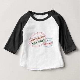 Montenegro dort getan dem baby t-shirt