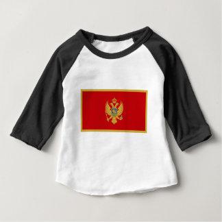 Montenegro-Flagge Baby T-shirt