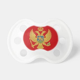 Montenegro-Flagge Schnuller