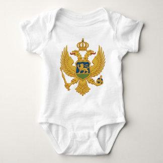 Montenegro-Wappen Baby Strampler