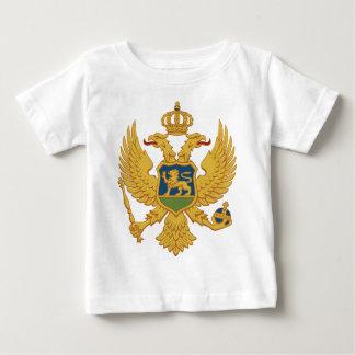 Montenegro-Wappen Baby T-shirt