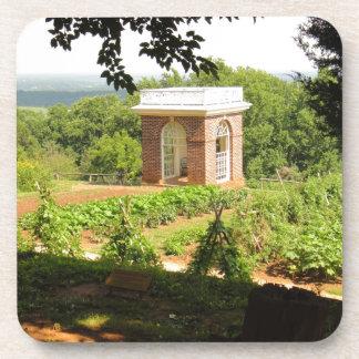 Monticello Ansicht Untersetzer
