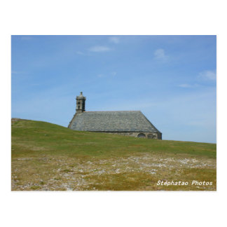 Monts-Kapelle von Arées die BRETAGNE FRANKREICH Postkarte