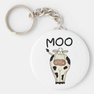 MOO-Kuh Schlüsselanhänger