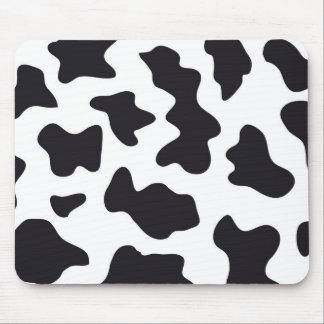 MOO-Schwarzweiss-Milchkuh-Muster-Druck-Geschenke Mauspads