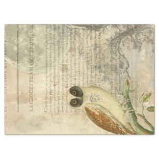 Moonlit Eule Decoupage Seidenpapier