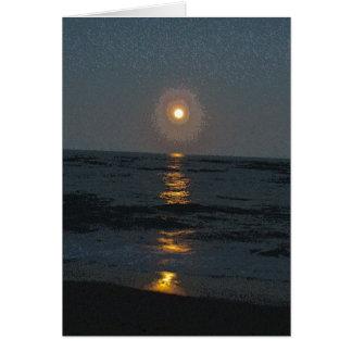 Moonrise an den Diamant-Massen OBX NC Karte