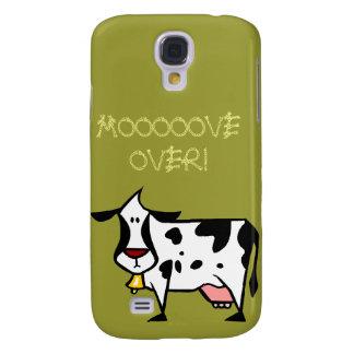 Mooooove vorbei! iPhone 3G Fall Galaxy S4 Hülle