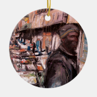 Moore-Straßendublin-Käufer Keramik Ornament