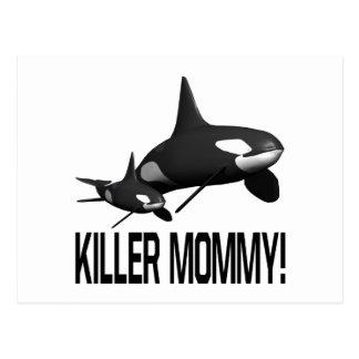 Mörder-Mama Postkarte