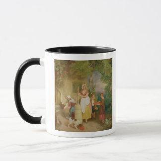 Morgen, 1799 (Öl auf Leinwand) Tasse