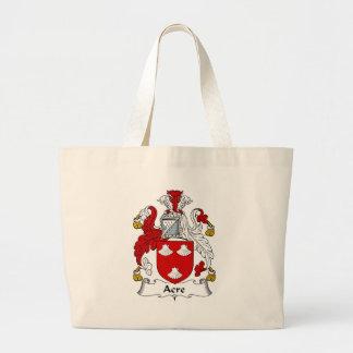 Morgen-altes Familien-Wappen Wappen Jumbo Stoffbeutel