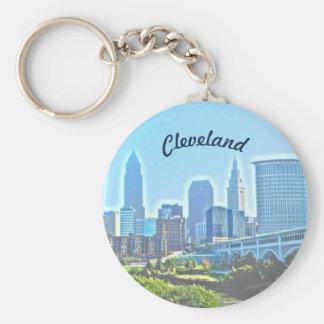 Morgen Cleveland Ohio Keychain Schlüsselanhänger
