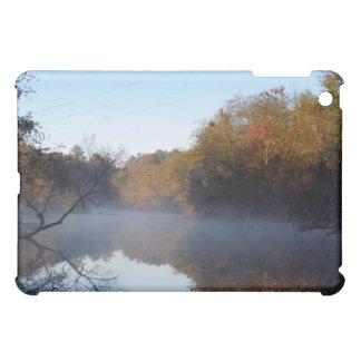 Morgen-Nebel - Contentnea Nebenfluss, North iPad Mini Hülle