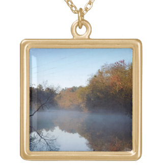 Morgen-Nebel - Contentnea Nebenfluss, North Vergoldete Kette