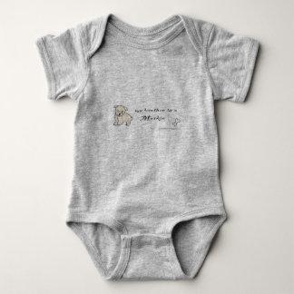 morkie baby strampler