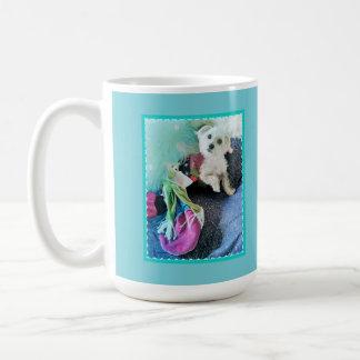 Morkie Hundeniedliche lustige Kaffeetasse