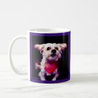 Morkie Hundewelpen-Liebe-niedliche Kaffeetasse