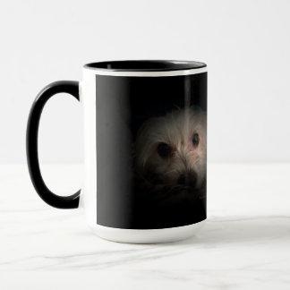 Morkie Hundewelpen-niedliche Tasse