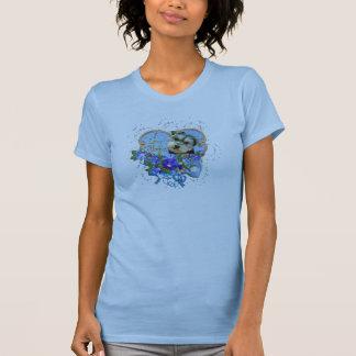Morkie Valentine-Liebe-Geldstrafe-Jersey-T - Shirt