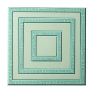 Morocan grüne Pastellfliese Kleine Quadratische Fliese