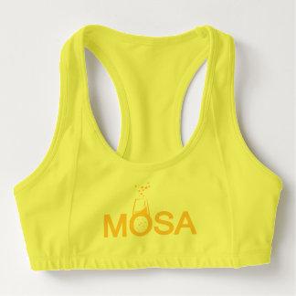 Mosa trägt BH zur Schau Sport-BH