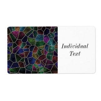 Mosaik Lora, Mehrfarben